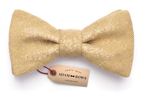 samy goldene herren fliege adam bows. Black Bedroom Furniture Sets. Home Design Ideas